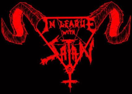 In League with Satan - Logo
