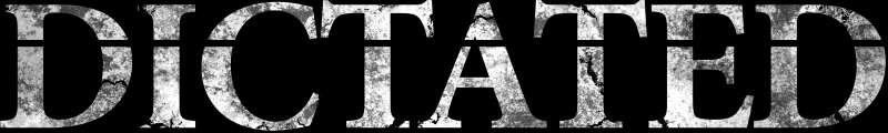 Dictated - Logo