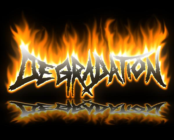 Degradation - Logo