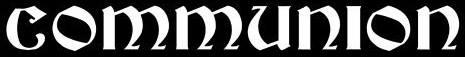 Communion - Logo