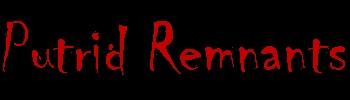Putrid Remnants - Logo