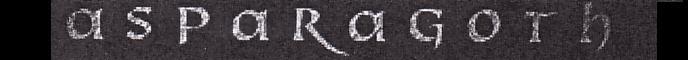 Asparagoth - Logo