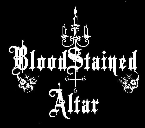 Bloodstained Altar - Logo