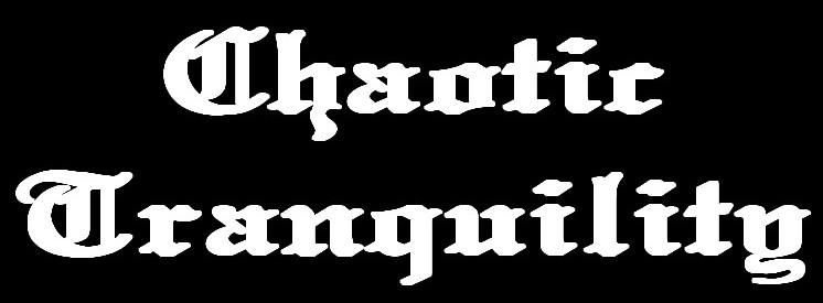 Chaotic Tranquility - Logo