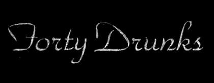 Forty Drunks - Logo