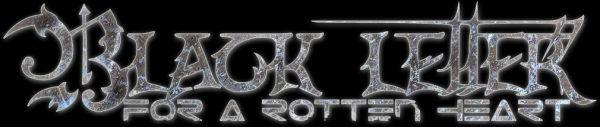 Black Letter for a Rotten Heart - Logo