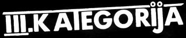 III Kategorija - Logo