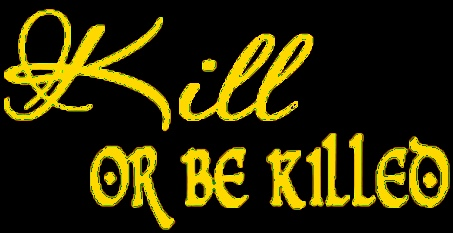 Kill or Be Killed - Logo
