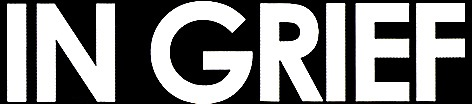 In Grief - Logo