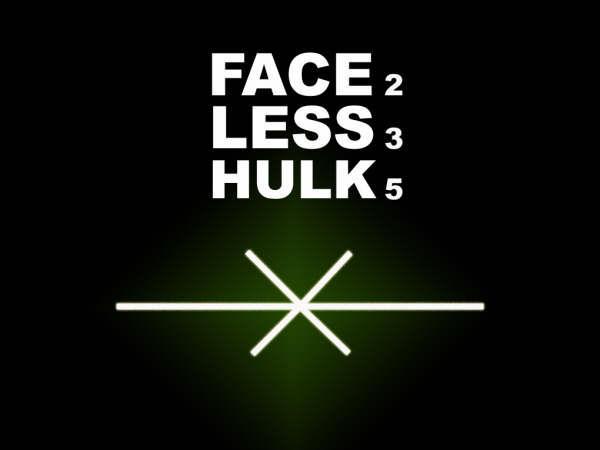 Faceless Hulk - Logo
