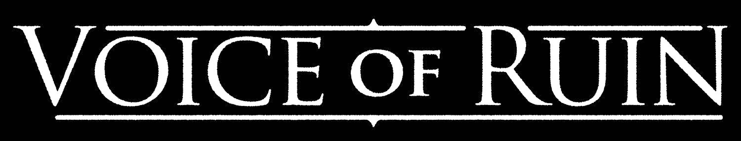 Voice of Ruin - Logo