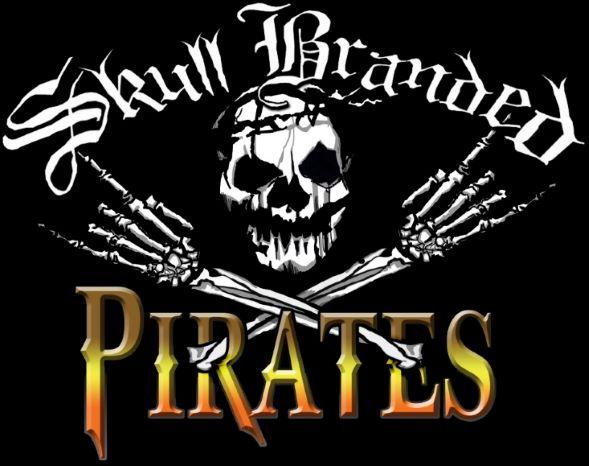 Skull Branded Pirates - Logo
