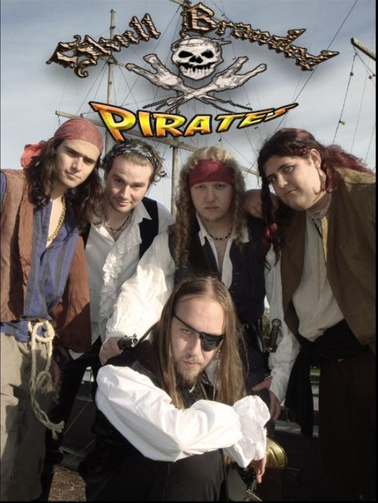 Skull Branded Pirates - Photo