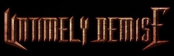 Untimely Demise - Logo