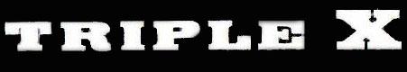 Triple X - Logo