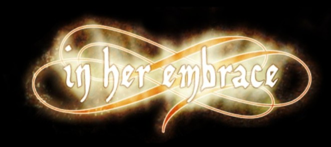 In Her Embrace - Logo