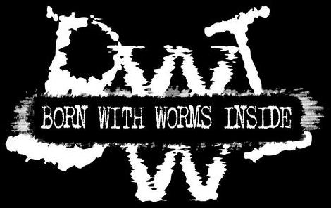 Born with Worms Inside - Logo