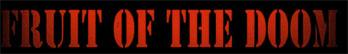 Fruit of the Doom - Logo