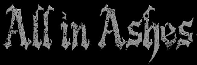 All in Ashes - Logo