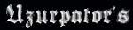 Uzurpator - Logo