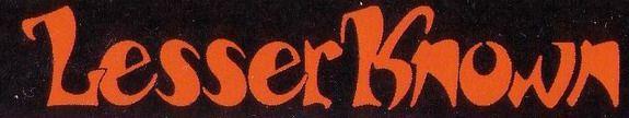 Lesser Known - Logo