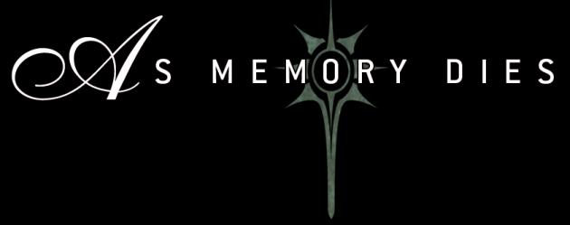 As Memory Dies - Logo