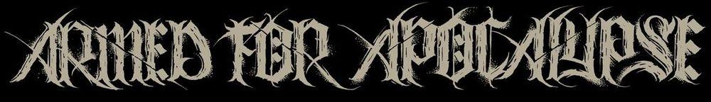 Armed for Apocalypse - Logo