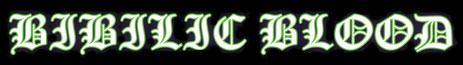 Bibilic Blood - Logo