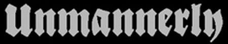Unmannerly - Logo