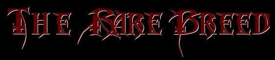The Rare Breed - Logo