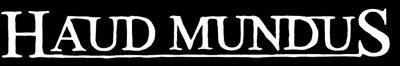 Haud Mundus - Logo