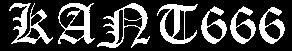 Rant666 - Logo