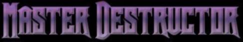 Master Destructor - Logo