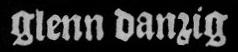 Glenn Danzig - Logo