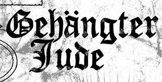 Gehängter Jude - Logo