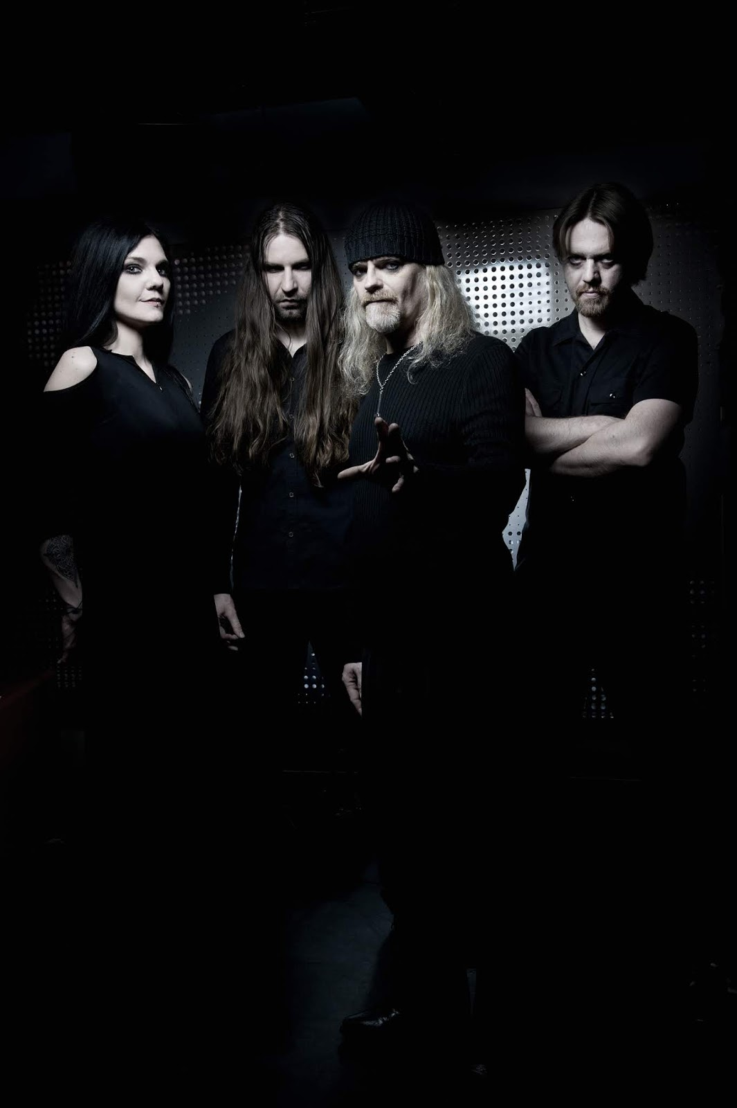 Triptykon members (Click to see larger picture)