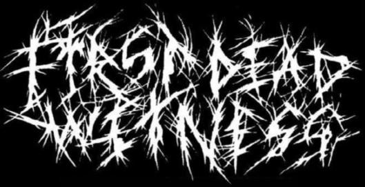 First Dead Witness - Logo
