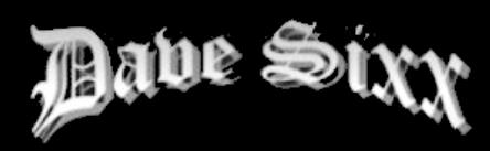 Dave Sixx - Logo