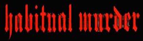 Habitual Murder - Logo