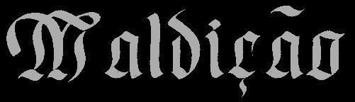 Maldição - Logo