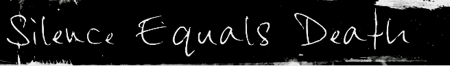 Silence Equals Death - Logo