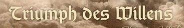 Triumph des Willens - Logo