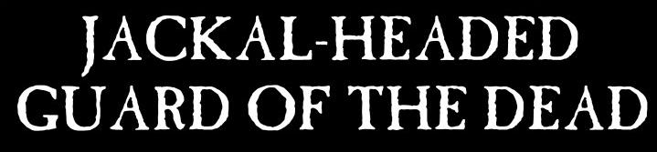 Jackal-headed Guard of the Dead - Logo