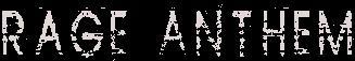 Rage Anthem - Logo
