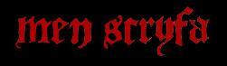 Mên Scryfa - Logo