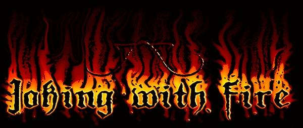 Joking with Fire - Logo