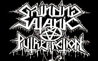 Grinding Satanic Putrefaction - Logo