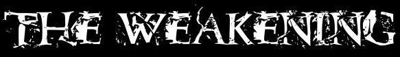 The Weakening - Logo
