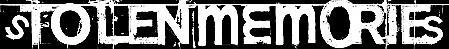 Stolen Memories - Logo