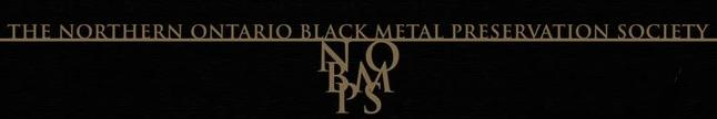 The Northern Ontario Black Metal Preservation Society - Logo